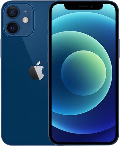 Refurbished: Apple iPhone 12 Mini 64GB Blue, Unlocked A
