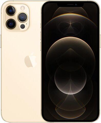 Refurbished: Apple iPhone 12 Pro Max 128GB Gold, Unlocked B