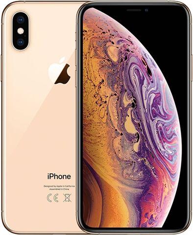 Refurbished: Apple iPhone XS 64GB Gold, Unlocked A