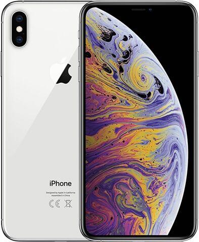 Refurbished: Apple iPhone XS Max 512GB Silver, Vodafone B