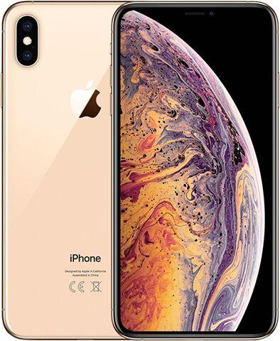 Refurbished: Apple iPhone XS Max 64GB Gold, EE B