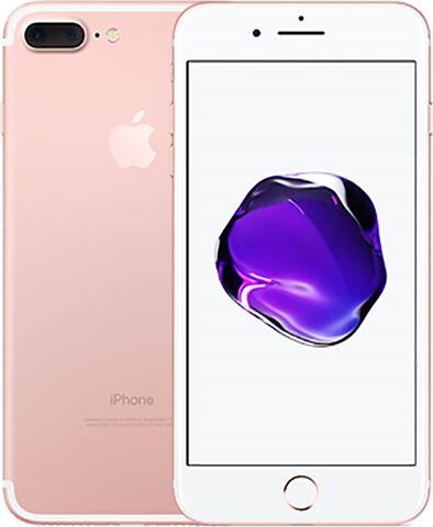 Refurbished: Apple iPhone 7 Plus 32GB Rose Gold, O2 B