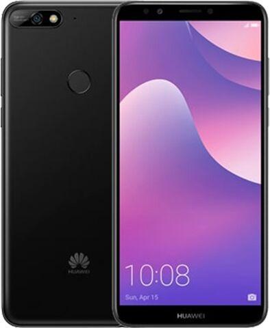 Huawei Y7 (2018) 16GB Black, Vodafone B