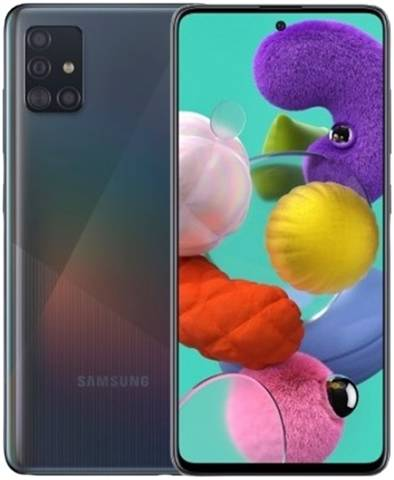 Samsung Galaxy A51 Dual Sim 128GB Prism Crush Black, Unlocked B