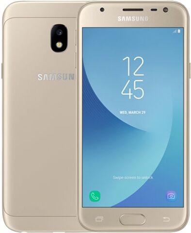 Samsung Galaxy J3 (2017) 16GB Gold, O2 C