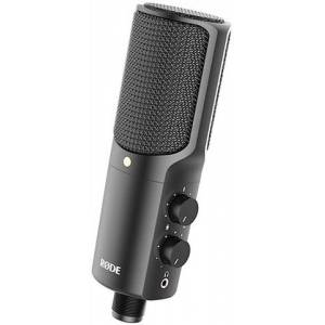 Rode NT-USB Microphone w/ Pop Shield, Ringmount and Tripod