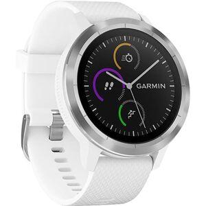 Refurbished: Garmin Vivoactive 3 GPS Smartwatch - White, C