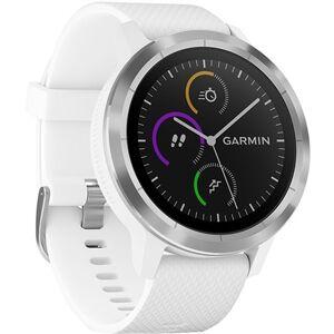 Garmin Vivoactive 3 GPS Smartwatch and Wrist Heart Rate - White, B
