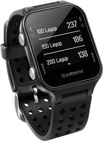Refurbished: Garmin Approach S20 GPS Golf Watch - Black, B