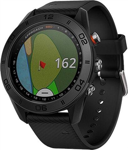 Refurbished: Garmin Approach S60 GPS Watch - Black, B