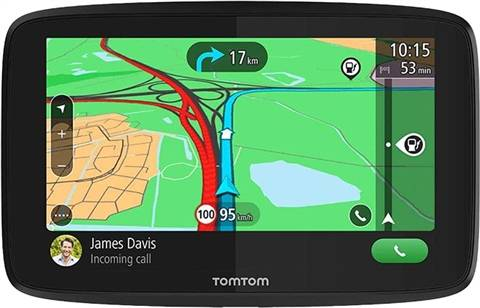 "Refurbished: Tom Tom Go Essential 6"" GPS, B"