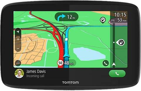 "Refurbished: TomTom Go Essential 6"" GPS, C"