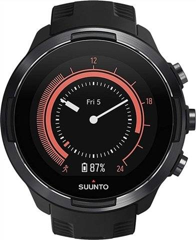 Refurbished: Suunto 9 Baro SmartWatch Black, B