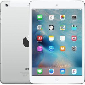 """Apple iPad Mini 2nd Gen (A1490) 7.9"""" 64GB - Silver, Unlocked B"""