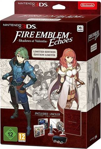 Fire Emblem Echoes: Shadows of Valentia LE w/ Amiibos, Artbook, OST + Pins