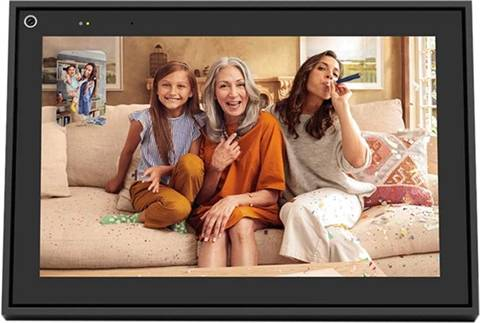 """Refurbished: Portal From Facebook 10"""" Smart Video Calling with Alexa - Black, B"""
