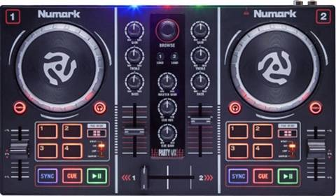 Refurbished: Numark Party Mix DJ Controller, C