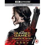 Refurbished: Hunger Games, The - Complete 4 Film Collection (12) 4K UHD+BR
