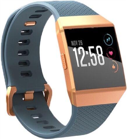 Refurbished: Fitbit Ionic Smartwatch - Slate Blue/Burnt Orange, B