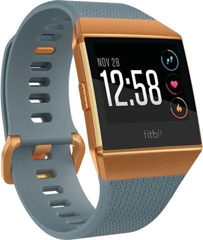 Refurbished: Fitbit Ionic Smartwatch - Slate Blue/Burnt Orange, C