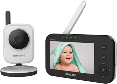 Refurbished: Samsung SEW-3040W Baby Video Monitoring System, B