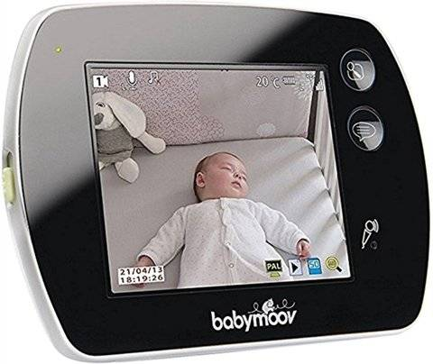 Refurbished: Babymoov Touch Screen Video Baby Monitor, C