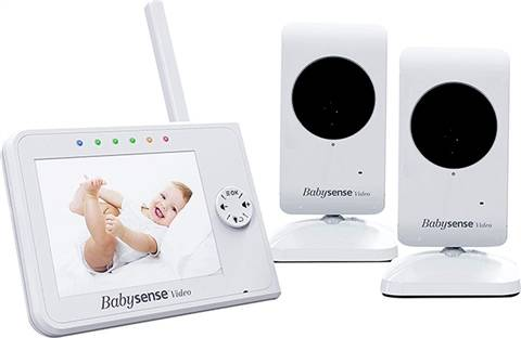 Babysense Split Screen Baby Monitor 2 Cameras, A