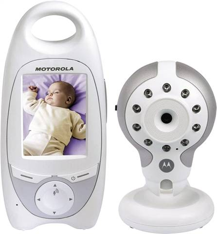 Motorola MBP30 Video Baby Monitor + Remote, A