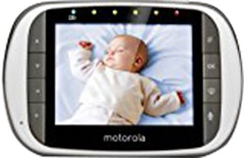 Motorola MBP853 Connect HD Wi-Fi Video Baby Monitor, B