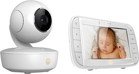 "Motorola MBP50 Video Baby Monitor With 5"" Parent Display Unit, B"