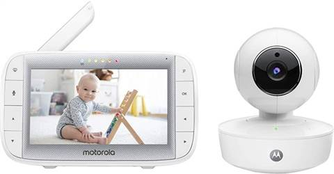 "Motorola MBP50 Video Baby Monitor With 5"" Parent Display Unit, C"