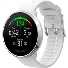 Refurbished: Polar Ignite Fitness Watch - White Strap, B
