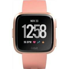 Refurbished: Fitbit Versa Health and Fitness Smartwatch - Peach, A