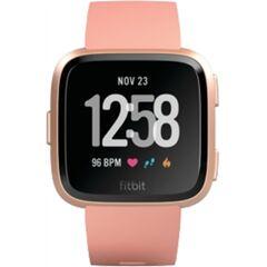 Refurbished: Fitbit Versa Health and Fitness Smartwatch - Peach, B
