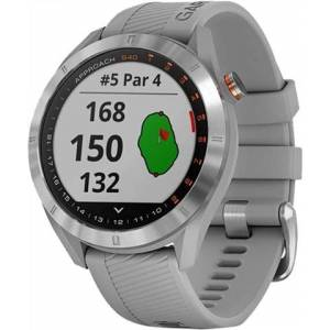 Refurbished: Garmin Approach S40 GPS Golf Watch - Stainless Steel, B