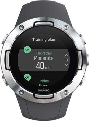 Refurbished: Suunto 5 GPS+HR Sports Watch - Graphite Steel, B