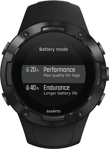 Refurbished: Suunto 5 GPS+HR Sports Watch - Black, B