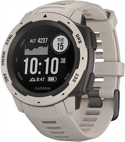 Refurbished: Garmin Instinct GPS Watch - Tundra, B
