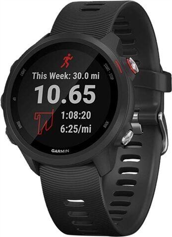 Refurbished: Garmin Forerunner 245 GPS Running Watch - Black, B