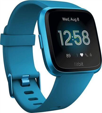 Refurbished: Fitbit Versa Lite Edition - Marina Blue, A