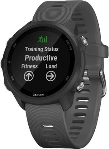 Refurbished: Garmin Forerunner 245 GPS Running Watch - Grey, B