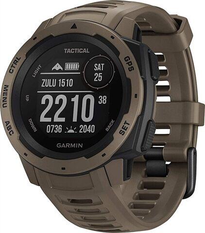 Refurbished: Garmin Instinct GPS Watch Coyote Tan, B
