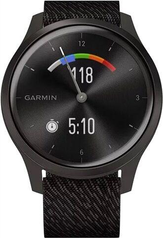 Refurbished: Garmin VivoMove Style Hybrid Smartwatch Graphite Aluminium/Black Pepper, B