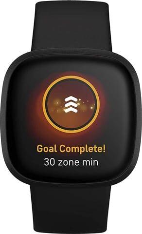 Refurbished: Fitbit Versa 3 Health & Fitness Smartwatch - Black, A
