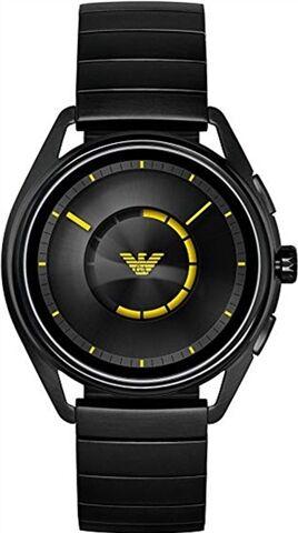 Refurbished: Emporio Armani ART5007 Connected Smartwatch 43mm - Black Steel, B