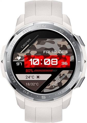 Refurbished: Honor GS Pro Smartwatch Marl White, B
