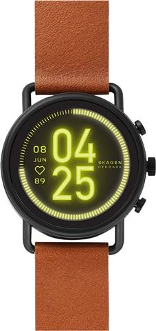 Refurbished: Skagen SKT5201 HR Falster 3 Smartwatch Black, B