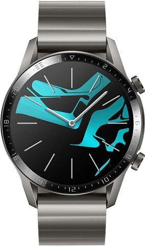 Refurbished: Huawei Watch GT 2 46MM Smart Watch - Titanium Grey, B