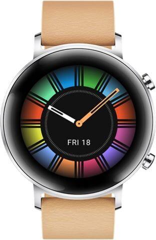 Refurbished: Huawei Watch GT 2 42MM Smart Watch - Gravel Beige, B
