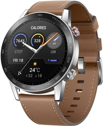 Refurbished: Honor Magic Watch 2 (46MM) - Flax Brown, A